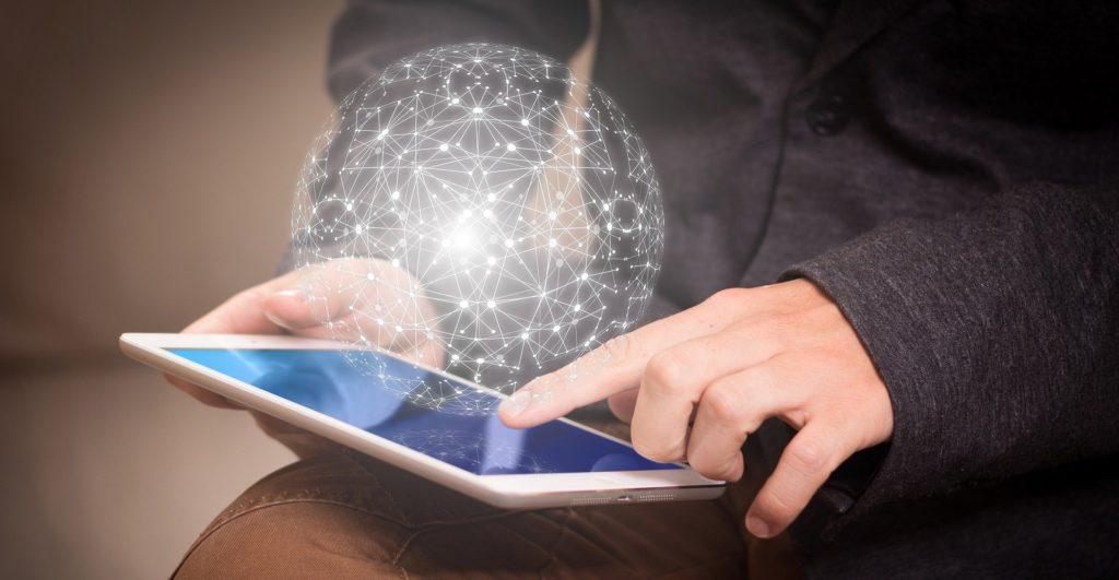 Tablette avec accès internet